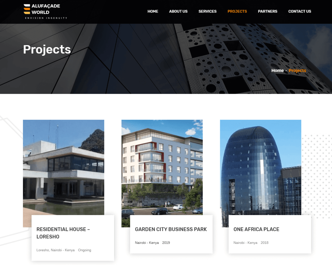 Alufacade-projects