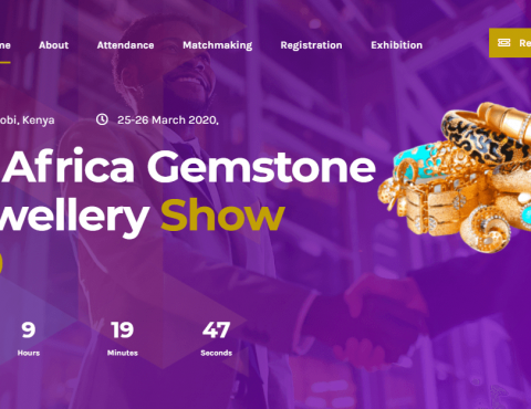 Featured image for East Africa Jewellery & Gemstone Show Website Design
