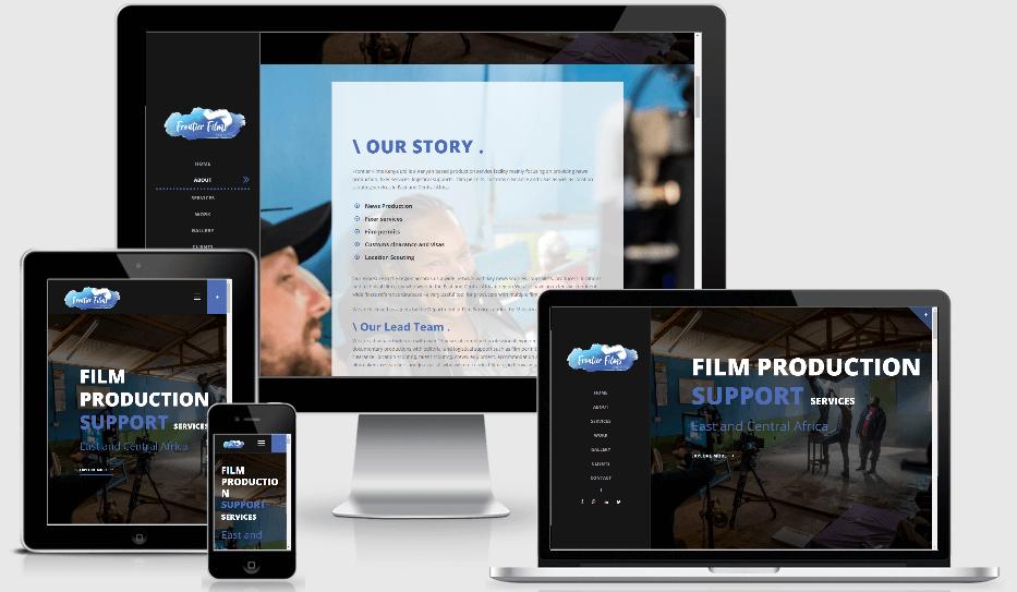 frontier films responsive