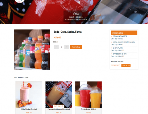 Featured image for Savage Foodie e-Commerce Website