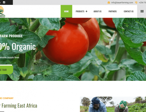 Featured image for Bauer Farming East Africa Website