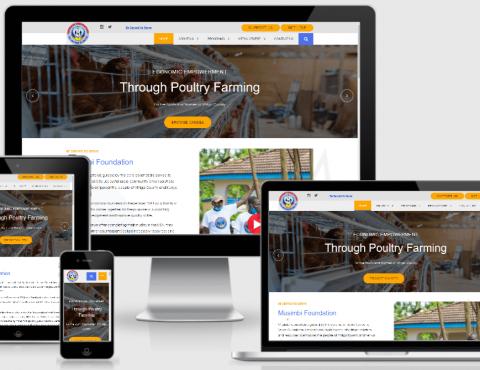Featured image for Musimbi Foundation NGO Website Design