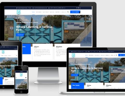 Featured image for Hillside School Website Design